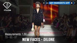 Dilone from Top Models in the World New Faces Spring/Summer 2018 | FashionTV | FTV