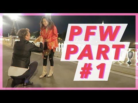 PFW Part 1: Dior & Saint Laurent  Vlog #66  Aimee Song