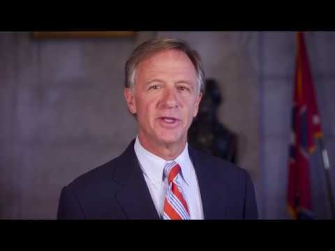 Tennessee Governor Bill Haslam Addresses 2018 Memphis Law  Symposium