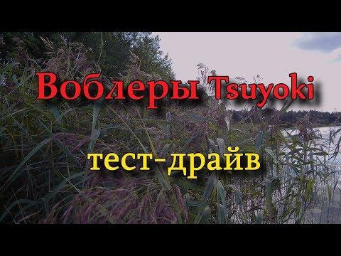 Воблеры TsuYoki, тест драйв