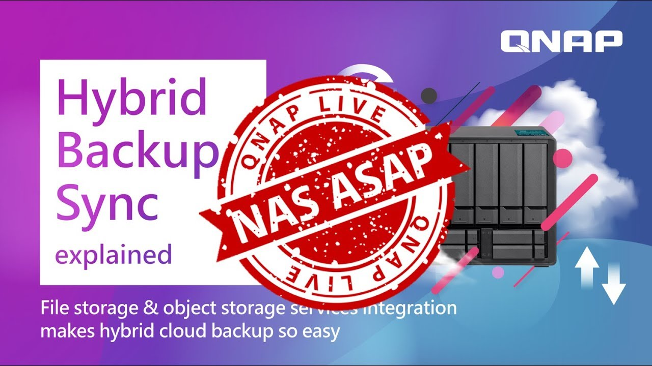 Hybrid Backup Sync explained | NAS ASAP