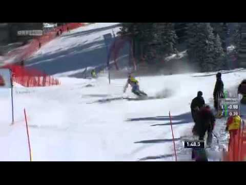 Bernadette Schild | 2. Platz | 2. DG | Slalom Lenzerheide | 16.3.2013