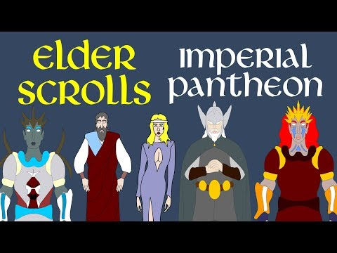Elder Scrolls: Imperial Pantheon (Nine Divines)