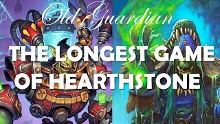 The longest game of Hearthstone (Control Shaman vs Control Warrior in Rise of Shadows)