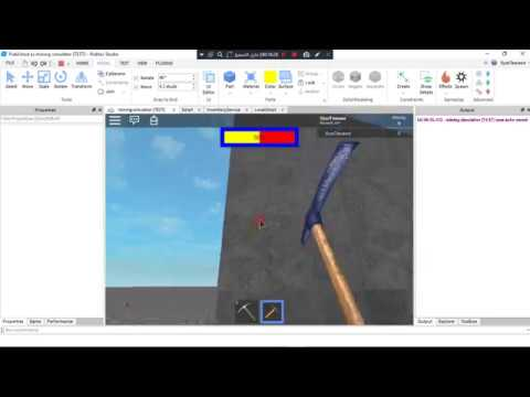 How to make a mining game in roblox part 2 [Without Coding]