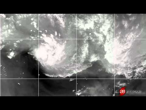 Cyclone Garry Moving Towards Cook Islands