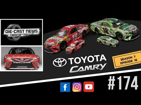 NASCAR Die-Cast News 174 (2017 Toyota Camry Molds Reveal)