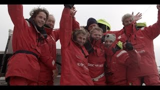 Le Trophée Jules Verne en 40 jours du maxi-trimaran IDEC Sport
