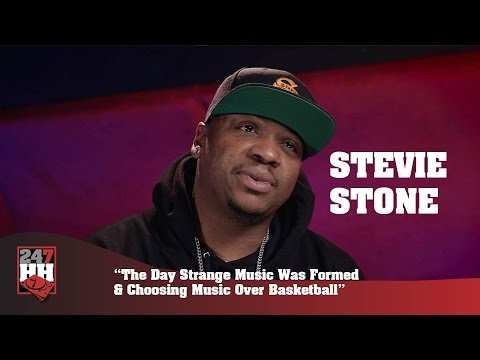 Stevie Stone - The Day Strange Music Was Formed & Choosing Music Over Basketball (247HH Exclusive)