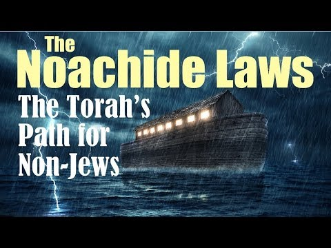 7 LAWS of NOAH - TORAH 4 NON-JEWS (Response 2 one for israel