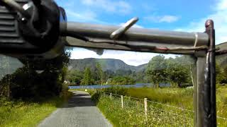 Driving my Austin7 chummy in the most beautiful place in Ireland