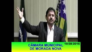Pronunciamento Jeovane Barros 19 08 16