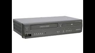 Magnavox VHS/DVD combo player review (in depth)