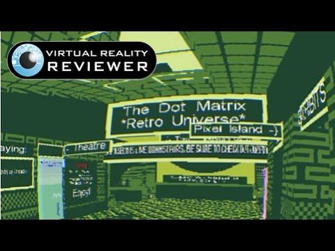 Janus VR Update & Dot Matrix on Oculus Rift