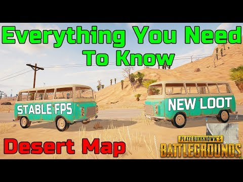 PUBG Desert Map: Gameplay of ALL NEW Vehicles and Weapons - New Terrain and FPS was Worth the Wait!!