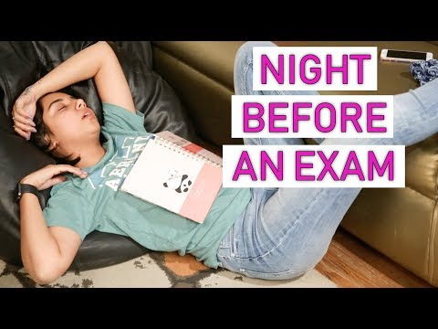 The Night Before An Exam | MostlySane