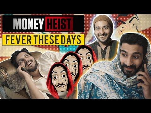 MONEY HEIST FEVER THESE DAYS | Bella Ciao | Karachi Vynz Official