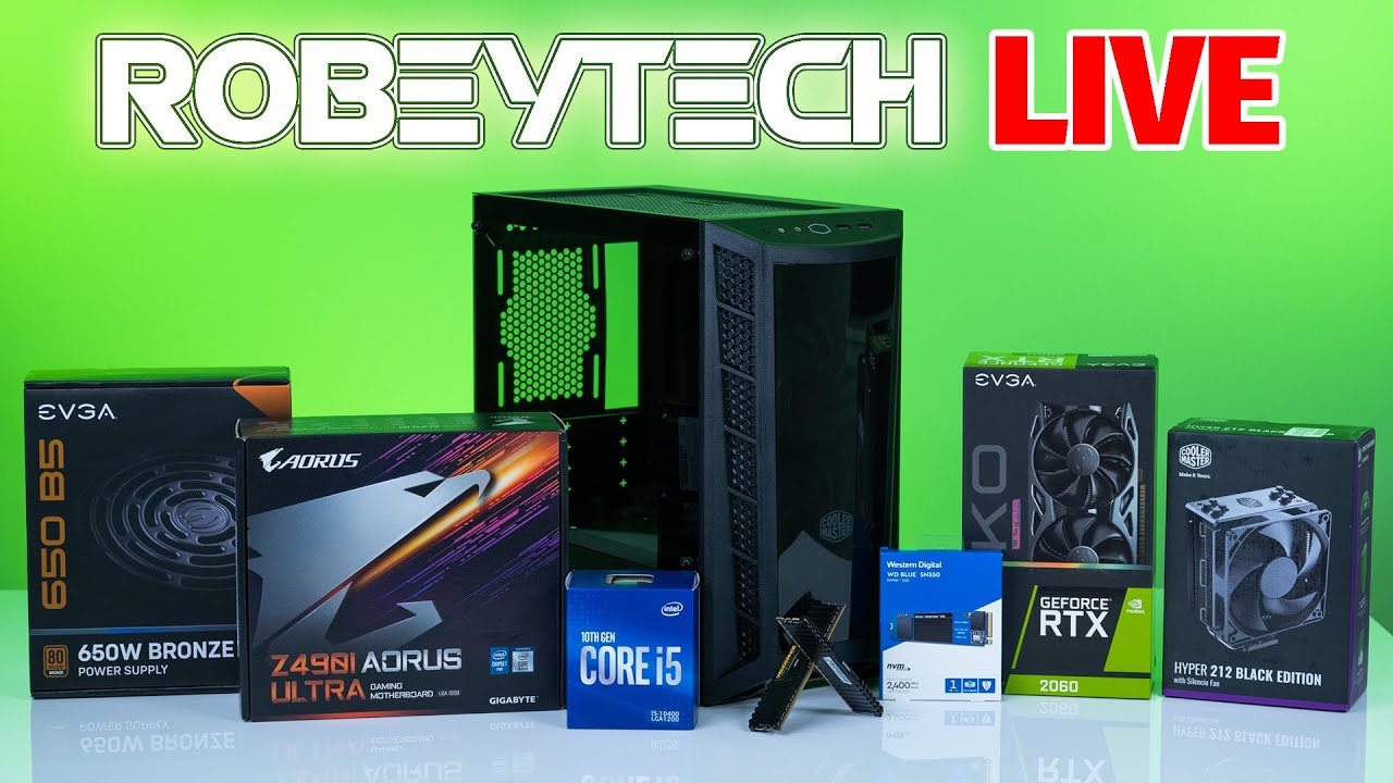Download How To Build a PC - Giveaways + $1000 Intel Gaming PC - i5-10400 /2060KO Ultra in MB311
