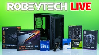 How To Build a PC  Giveaways + $1000 Intel Gaming PC  i510400 /2060KO Ultra in MB311 | Robeytech