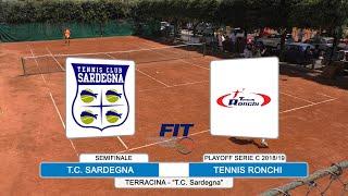 Tennis: Playoff Serie C Singolare Sponticcia vs Landucci