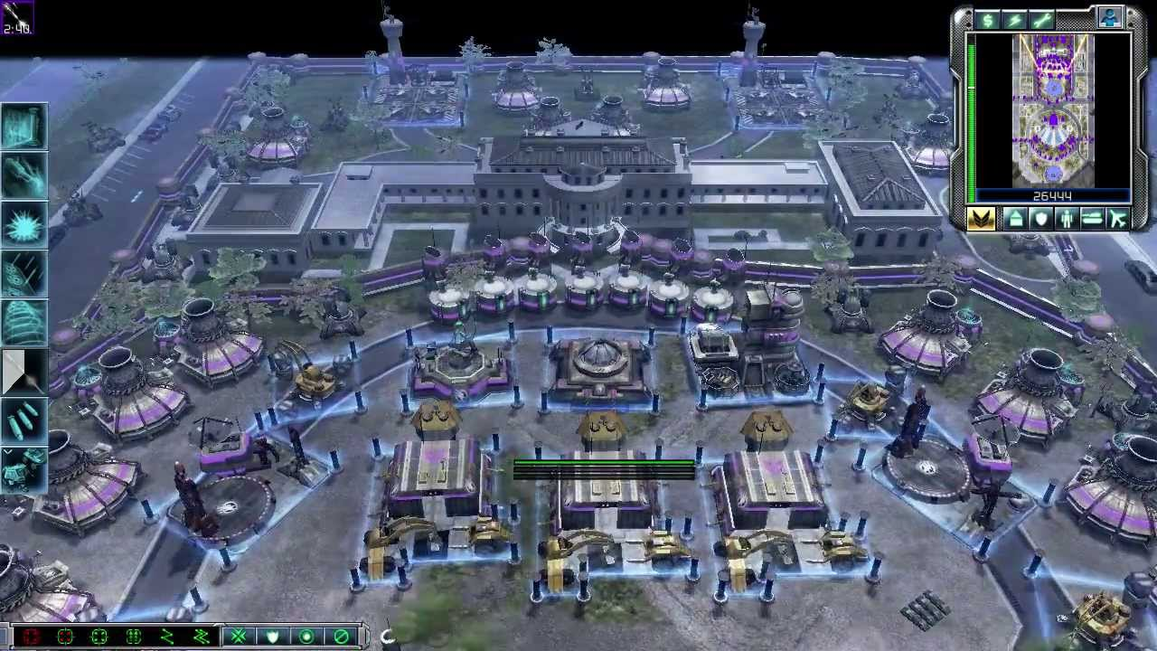 Lt. Eva's Steel Talons Main Base/HQ near the White House - A random C&C Kane's Wrath video about the Steel Talons US Base located near the White House and heavily guarded by the full brunt of Steel Talons forces.