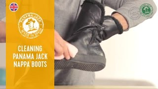 How to Clean Your Panama Jack Nappa Boots