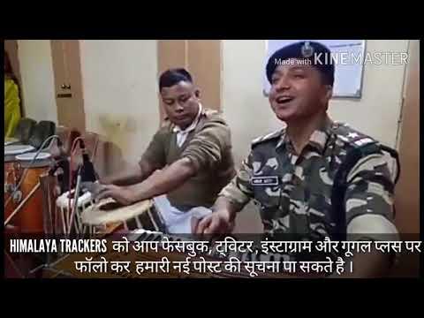 Himachali song faujjiye da ganna,कुल्लू के चोंग गांव के फौजी ने गाया गीत की दिल को छू गया ।
