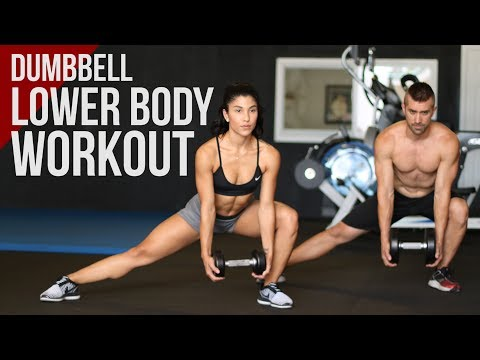 Lower Body Workout with Dumbbells (Strong Legs Fast!)