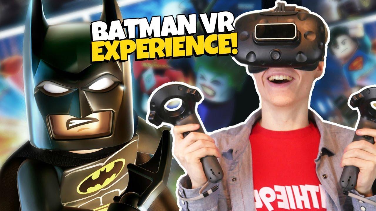 LEGO BATMAN MOVIE IN VIRTUAL REALITY!   Batmersive VR 360° Experience (HTC Vive)