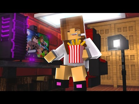 Minecraft: MURDER - BIBI TEM RISADA DE GORDA?!