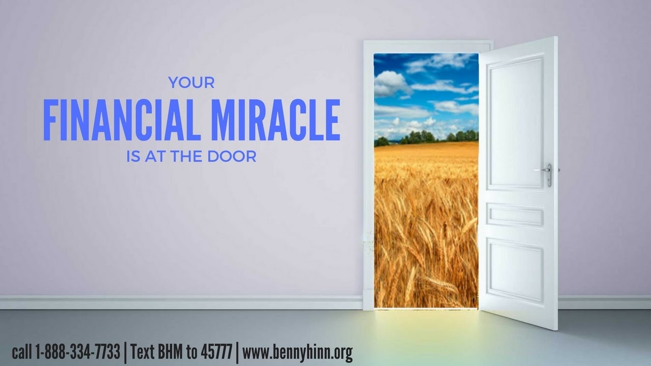 Your Financial Miracle is at the Door. & Your Financial Miracle is at the Door. - YouTube