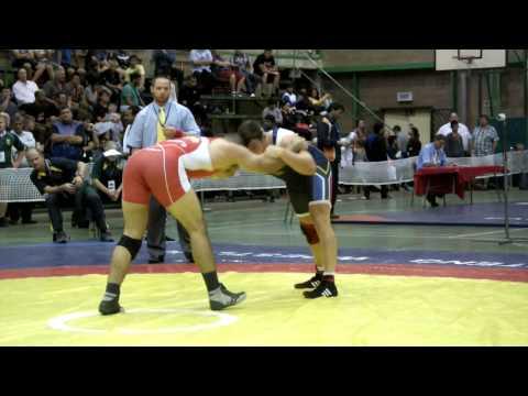 2013 Commonwealth Championships: 96 kg Ali Al-Rekabi (CAN) vs. Justin Van Zyl (RSA)
