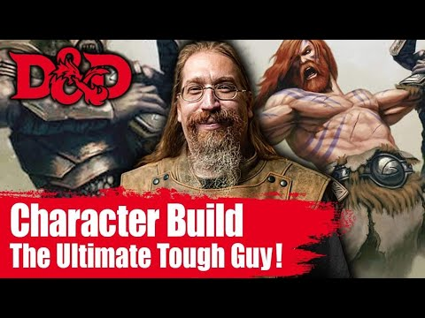 Ultimate Tough Guy Character Build- Barbarian Monk| D&D Character Build