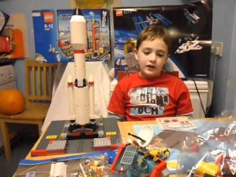 Lego City Space Center 3368 review for IzziwizziKids.co.uk - YouTube