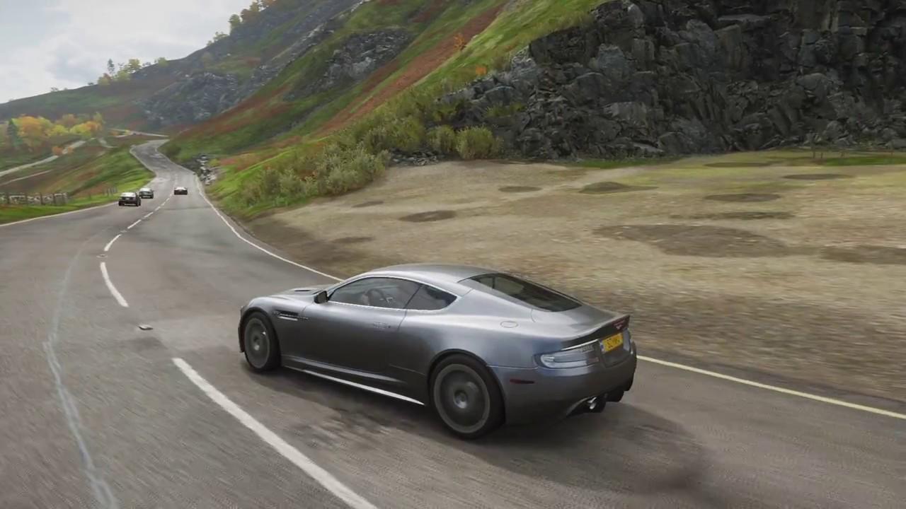 Aston Martin Dbs 2008 James Bond Edition Forza Horizon 4 Pure Sound Youtube