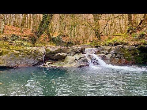 Расслабляющий Звук Горной Реки. 8 Часов Расслабляющего Видео в 4К.
