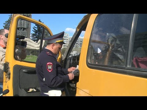 В Волгограде проверяют маршрутки