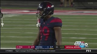 Arizona's Scottie Young Jr. practicing with the team