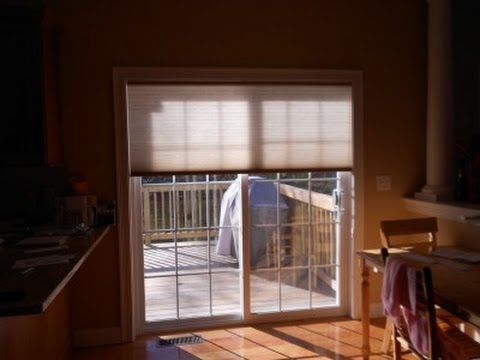 Roman Shades For Sliding Glass Doors Youtube