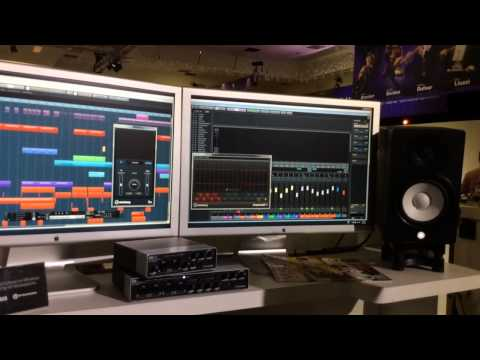 Winter NAMM 2014 - Steinberg Cubase 7.5 DAW Software and UR44 Audio Interface