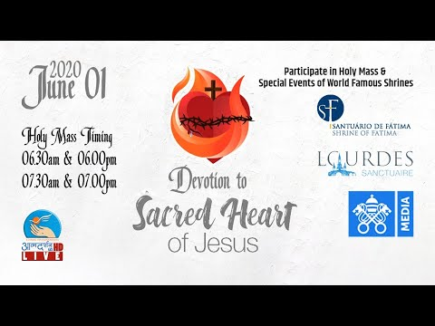 🔴 Live 01 June   Devotion To Sacred Heart   Atmadarshan Tv   Evening