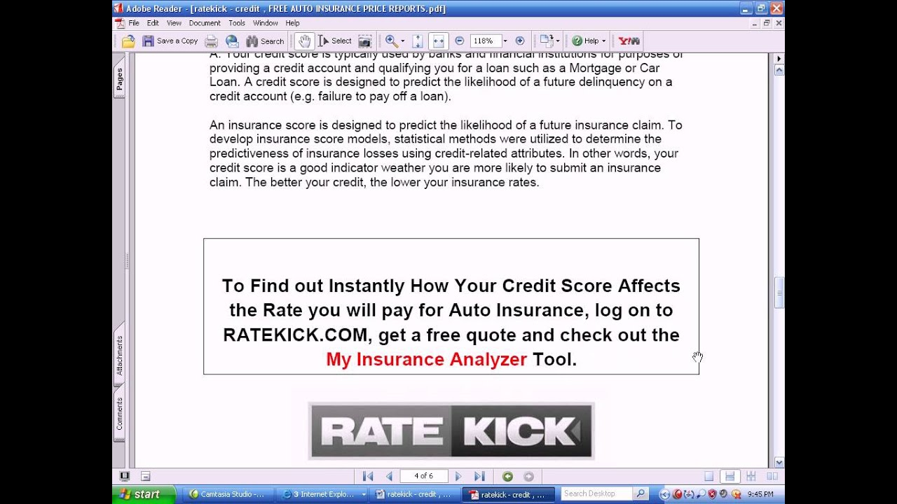 Does Your Credit Affect Car Insurance