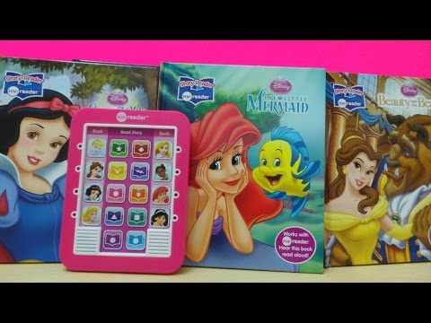 DISNEY PRINCESS ELECTRONIC ME READER TABLET COMPUTER TOY TO HELP LEARN ENGLISH