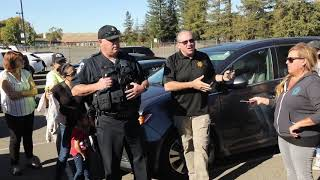 Santa Rosa Police Update Parents about Ridgway School Shooting