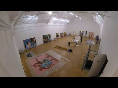 Lubaina Himid: Invisible Strategies Timelapse