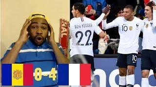 Andorra vs France 0-4 | UEFA EURO 2020 QUALIFIERS REACTION