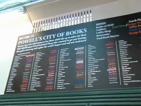 Powell's Book Store - Portland, Oregon