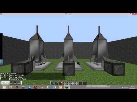 Minecraft GalaxyCraft Mod Showcase