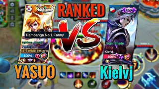 Download lagu Yasuo VS Kielvj // RANKED GAMEPLAY   Fanny vs Ling   Top Global Fanny   MLBB