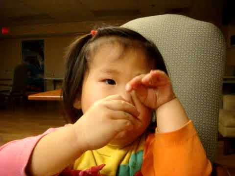 Ruthie singing Happy Birthday in Chinese